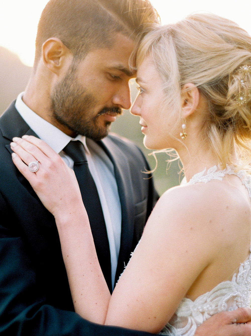 golden italian wedding
