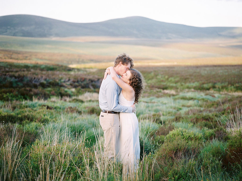 an irish mountain elopement