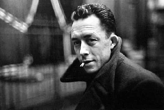 Camus by  Cartier-Bresson, '44