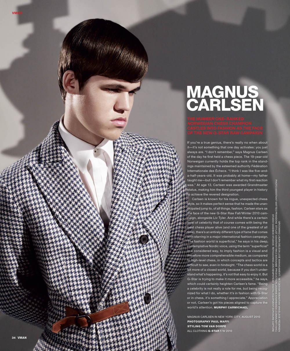 Magnus carlsen elliott w david