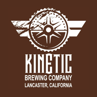 Kinetic Brewing Company - Lancaster, CA   Kinetic Brewing is a microbrewery located in Lancaster, California's historic downtown. The tap room and restaurant features a full menu and a core list of beers ranging from a Hefeweizen named Pendulum to their Fusion Robust Porter. They also have seasonal beers and are a regular in the Los Angeles festival circuit.
