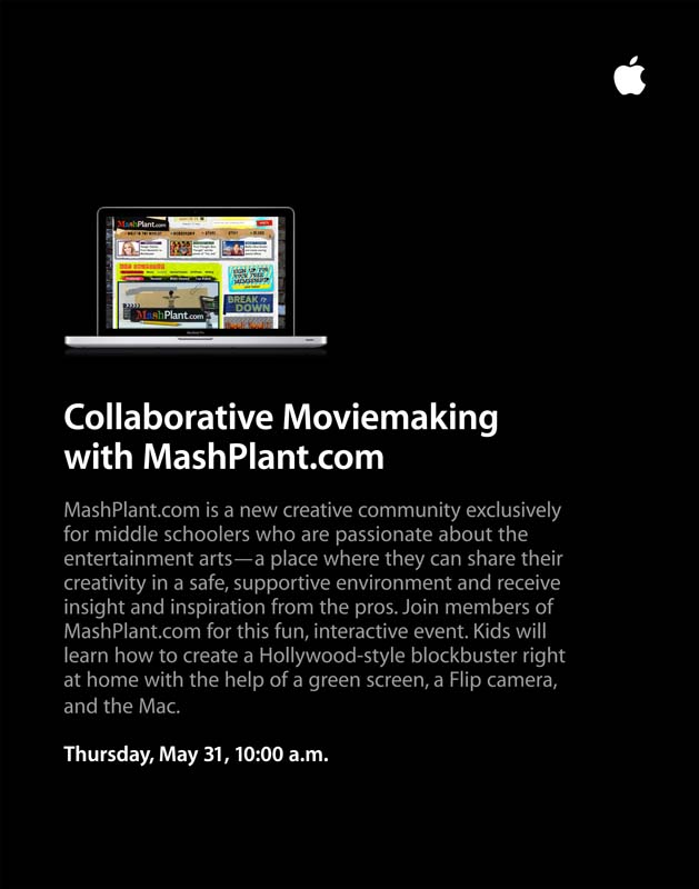 Apple Event Flyer (May, 2012)