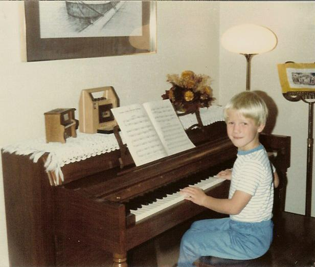 Geoff at the Piano