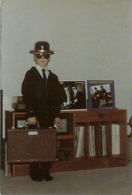 Geoff as a Blues Brother