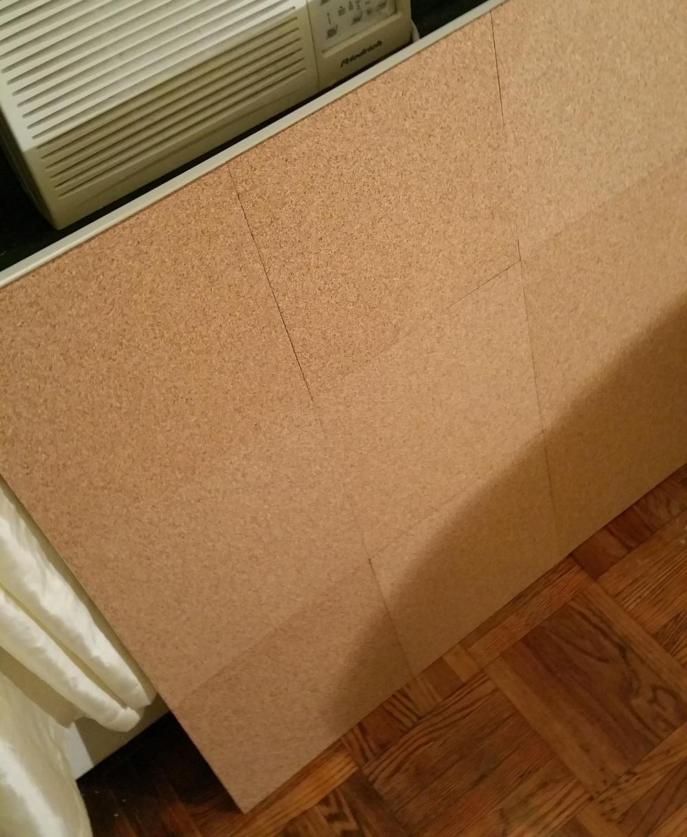 Asembled Cork Board