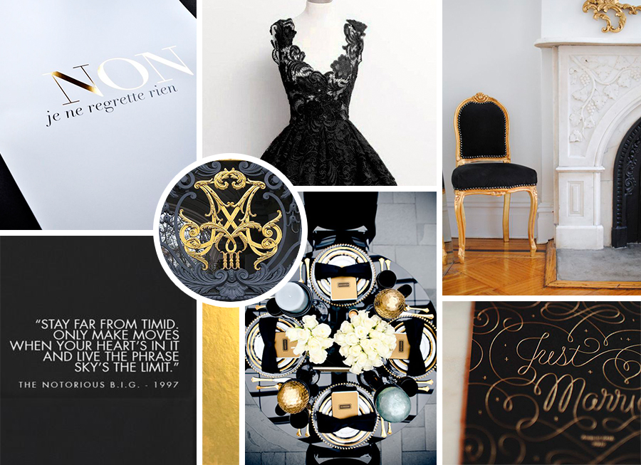 Paper Dreams + Keepsakes | Http://www.paperdreamsllc.com | New York Stationery Designer | Christa + Bayete Stationery Mood Board