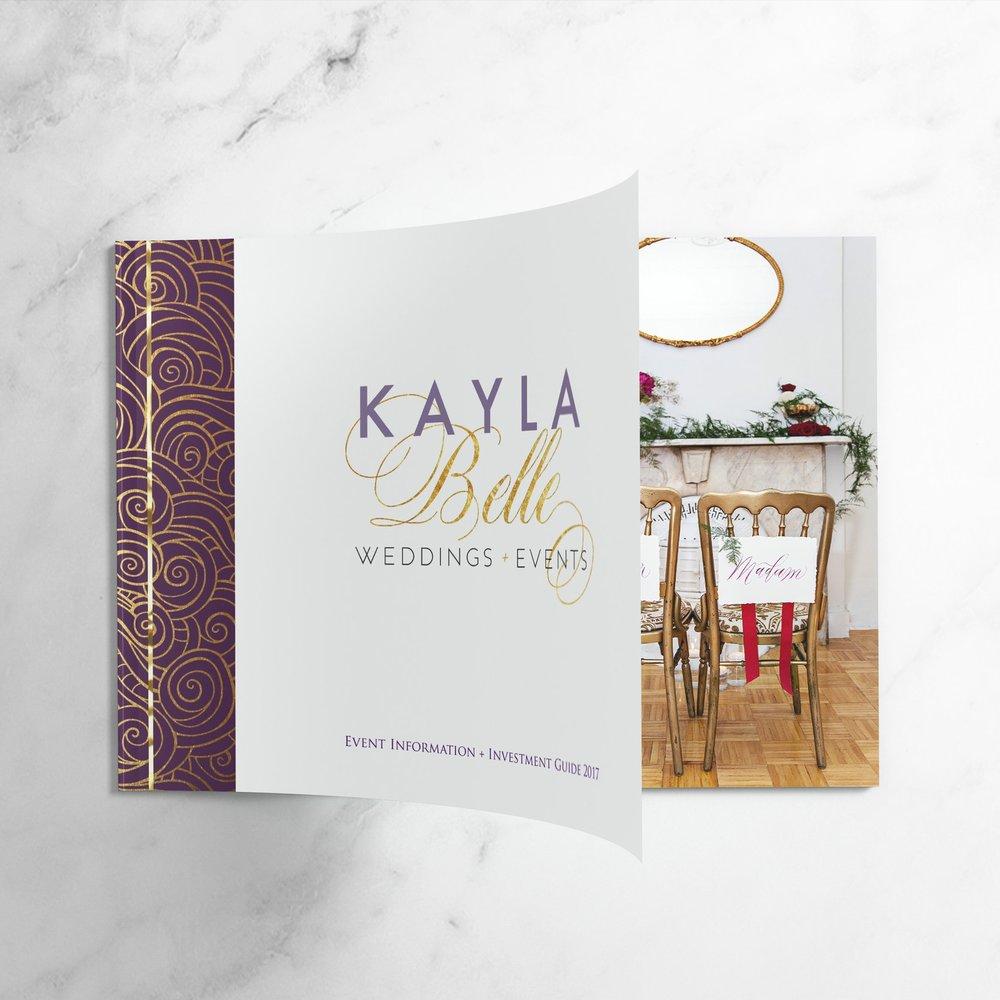 Paper Dreams + Keepsakes | Http://www.paperdreamsllc.com | New York Stationery Designer | Brand Magazine Design for Kayla Belle Weddings + Events