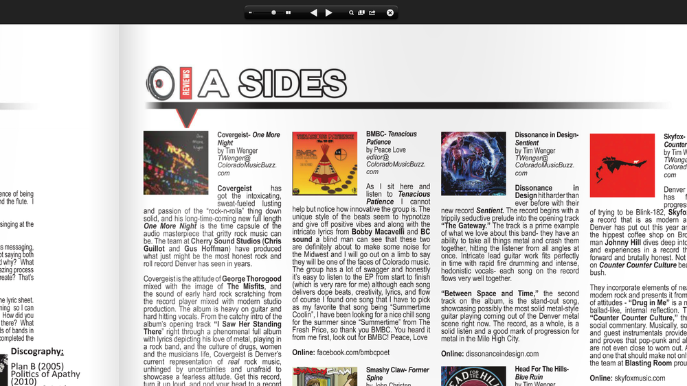 Album Review by Colorado Music Buzz Magazine http://www.colomusicbuzz.com/bmbc-tenacious-patience/