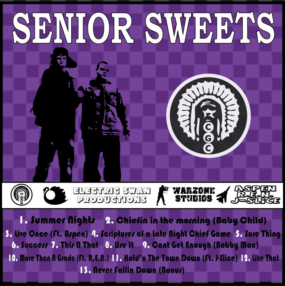 Back Cover for Senior Sweets