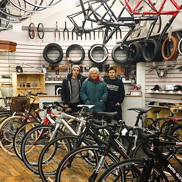 Well folks, The time has finally come for us at Cottingham cycle centre to say goodbye we will be closing our doors on the 31st of March, this decision is made with a heavy heart and is very difficult as our journey started way back in 1984. The opportunity to work in a bike shop has been a dream come true for all three of us and we would like to take this opportunity to thank all of our suppliers,brands and families but especially to our customers, some of who have become close personal friends. Your support over the years has enabled us to live out our dream and we are eternally grateful to you! We hope you can all pop in before our doors close to have a final chinwag and a coffee and maybe pick up a bargain. Our eBay shop will remain open for a while after we finally close the doors. Thanks again guys Pete Dunn, Steve Dunn and Chris Jacques.