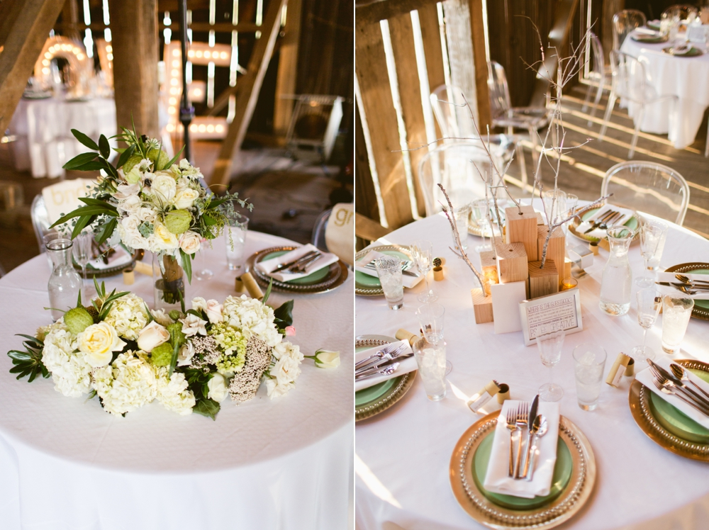Wedding reception with decorations by REXMAKE at the Gettysburg Battlefield B&B, Gettysburg PA, Flowers: Splints & Daisies, Desserts: Wells Family Baking Co., Wedding Photographers With Love & Embers