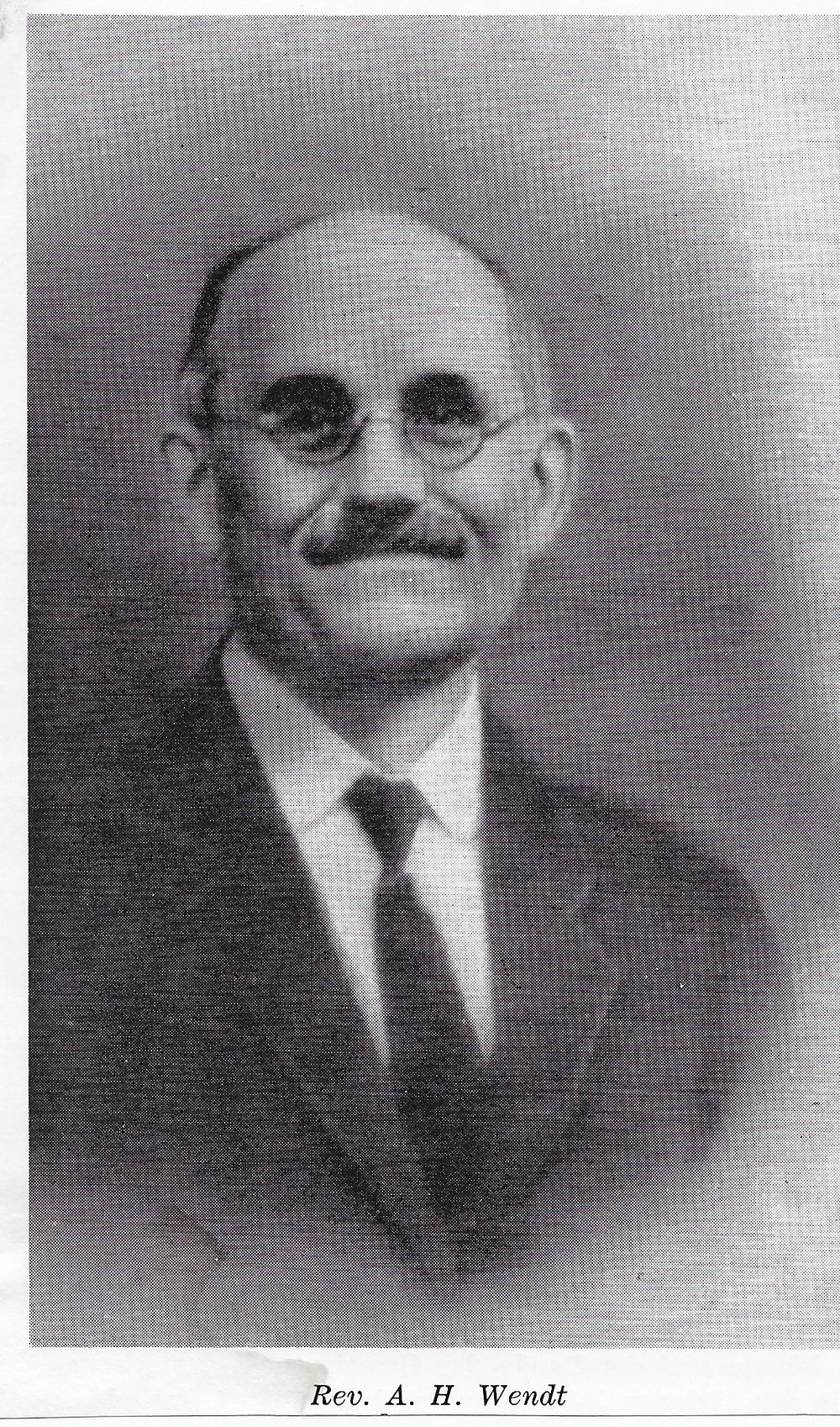 Rev. A.H. Wendt