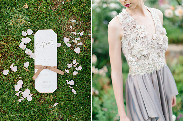 Silver Swallow Dresses | Chrystalace Stationery | Rensche Mari