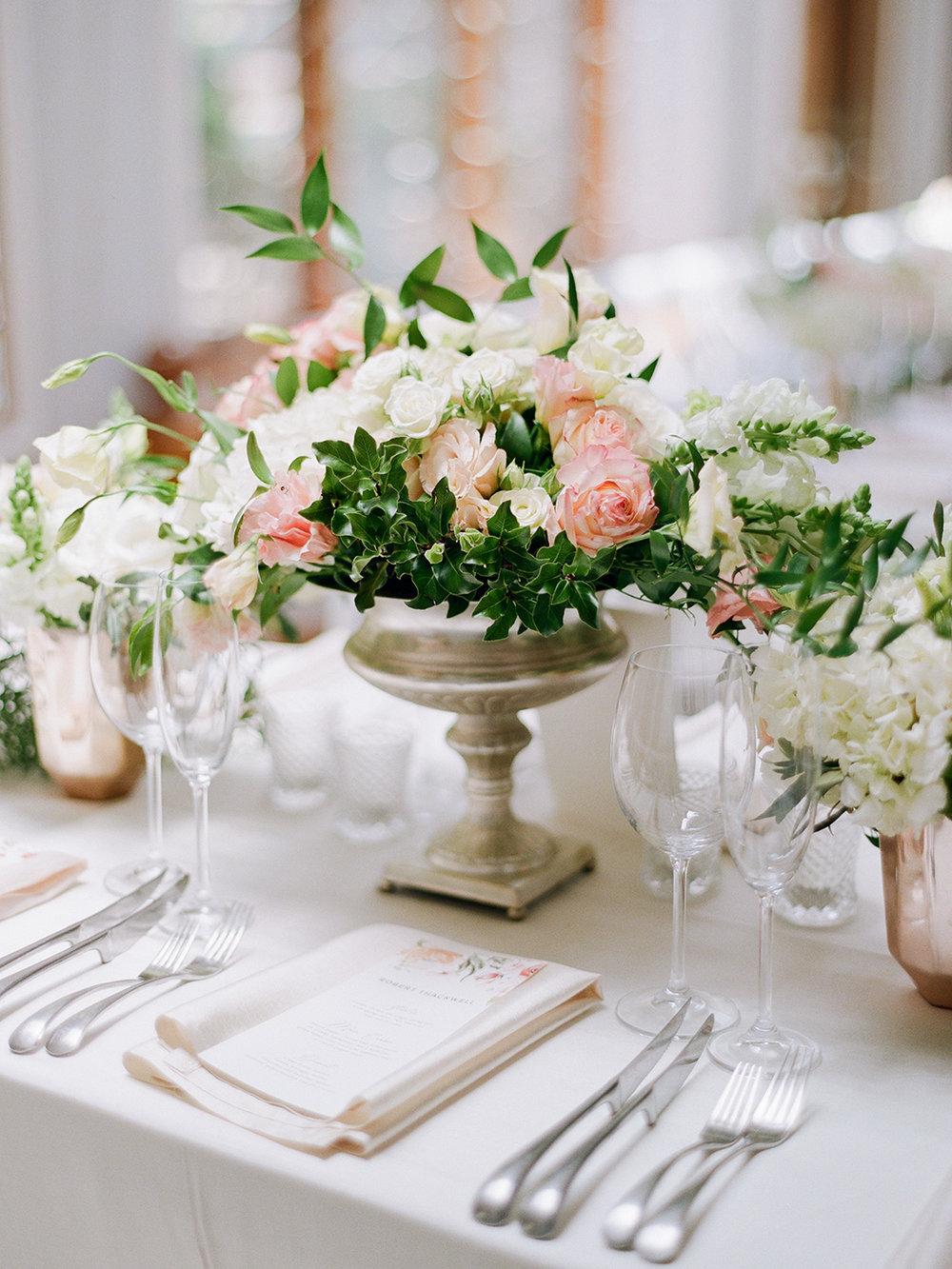 Wedding Table Decor | Rensche Mari Photography