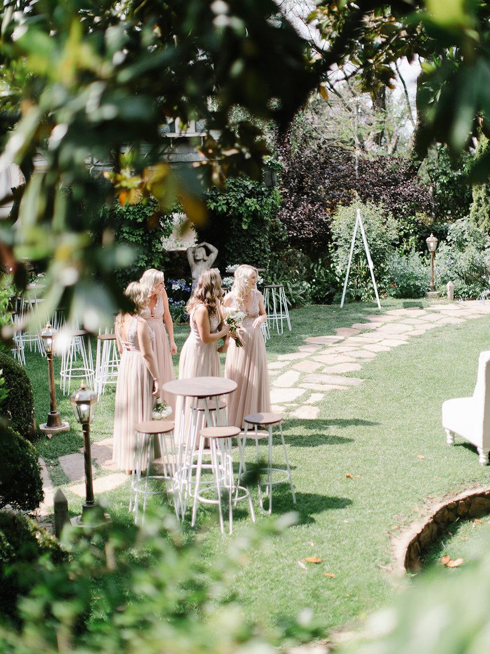 Bridesmaid Ceremony | Rensche Mari Photography