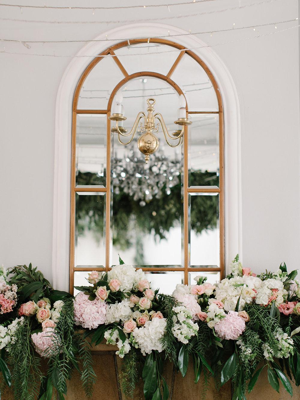 Floral Mirror | Rensche Mari Photography