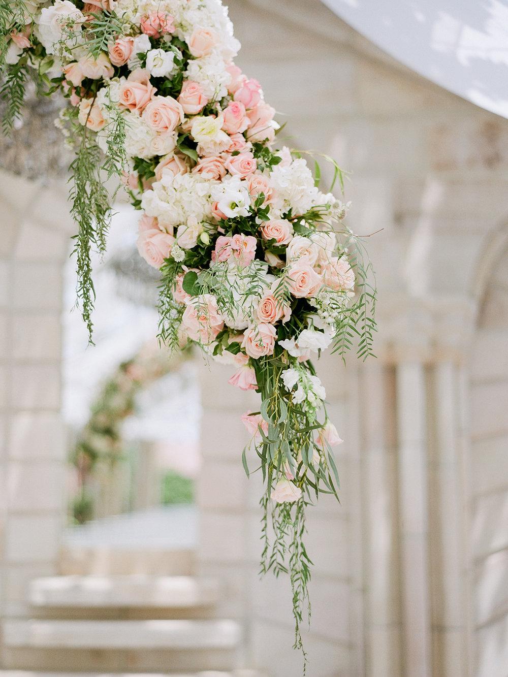 Floating Floral Arch Arrangement | Rensche Mari Photography