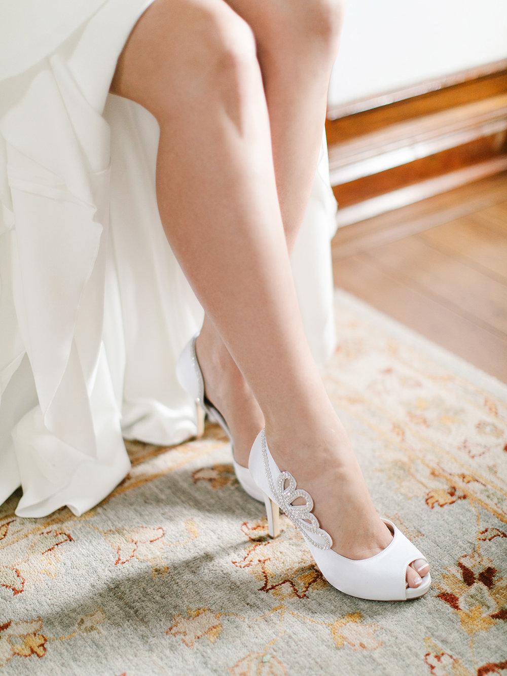 Wedding Shoes | Rensche Mari Photography