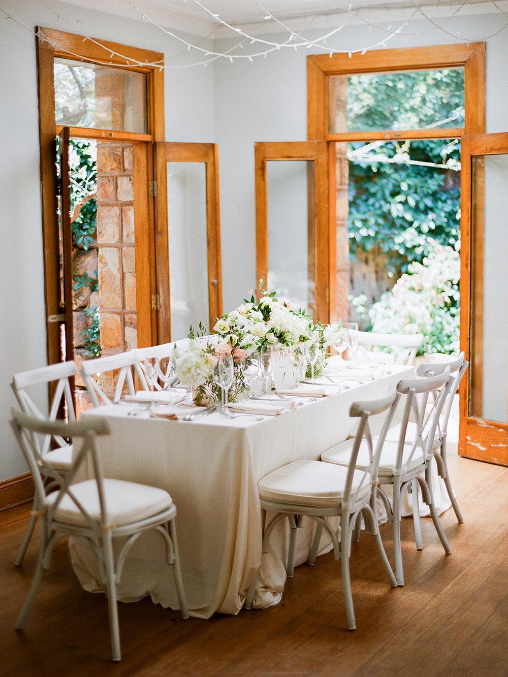 Wedding Table | Rensche Mari Photography