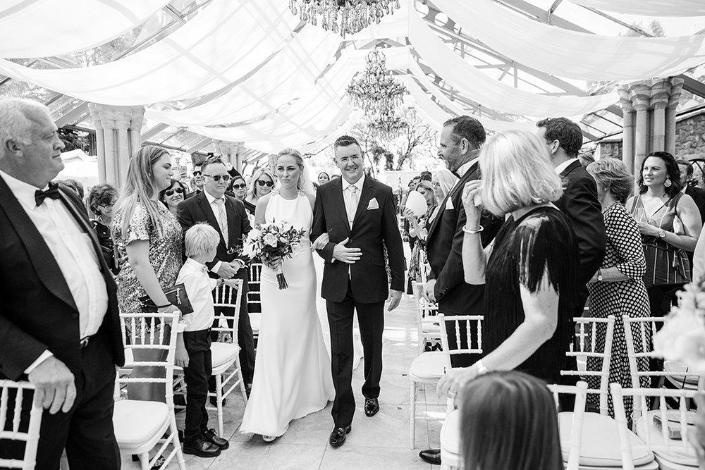 Bride & Father | Rensche Mari Photography