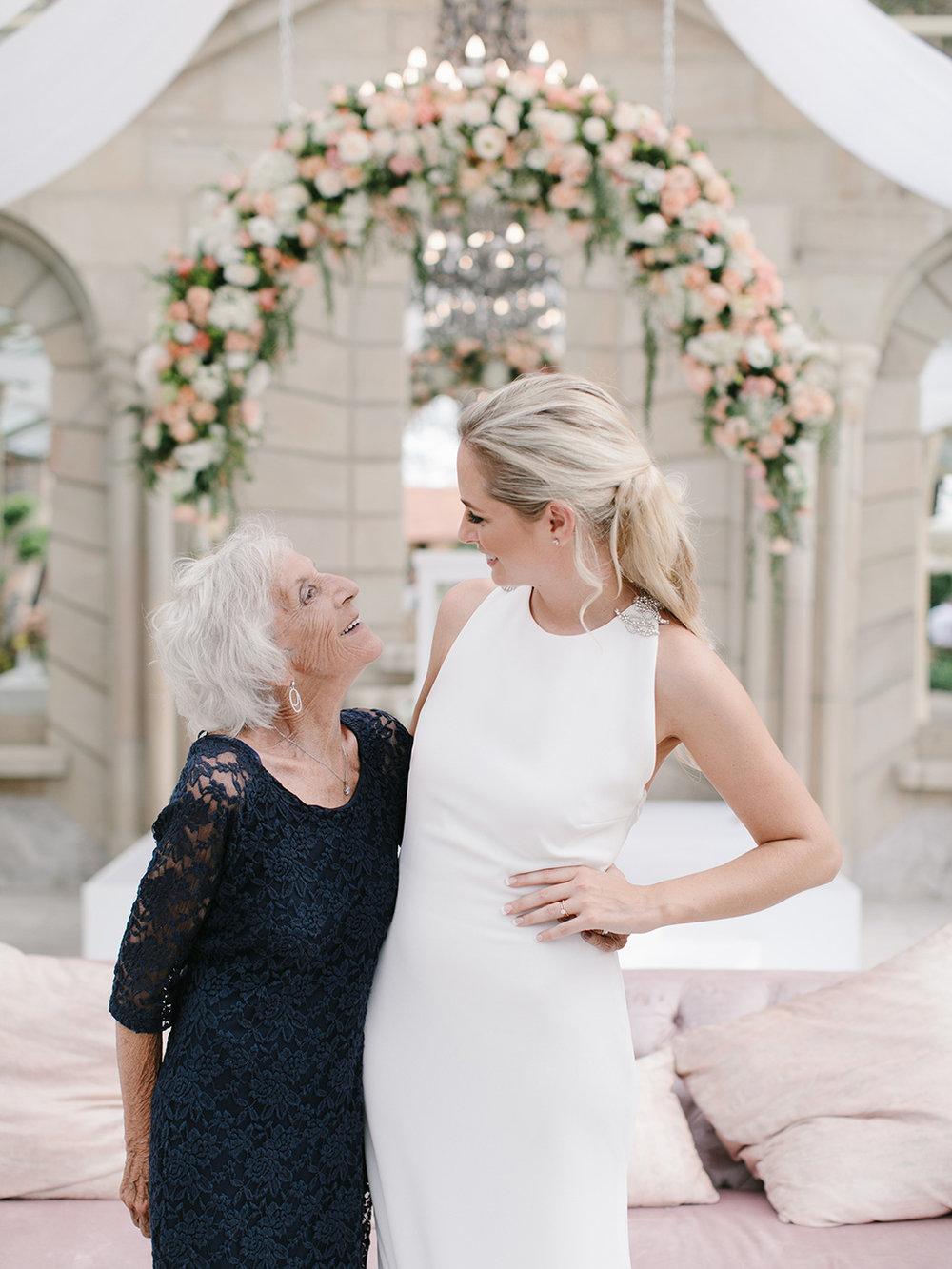 Grandma & Bride | Rensche Mari Photography
