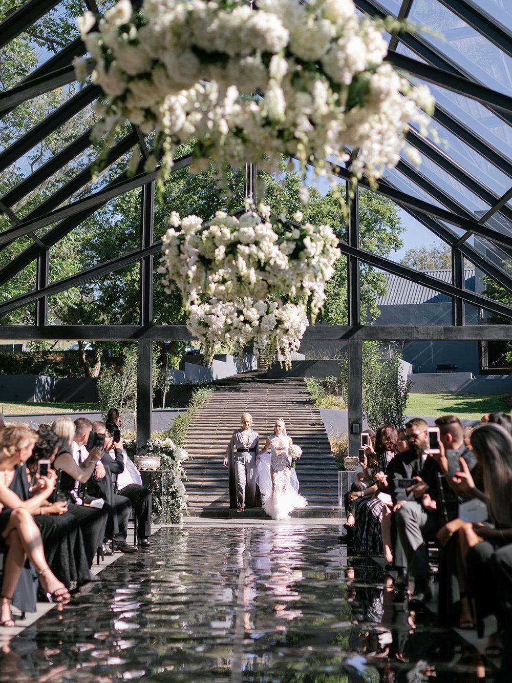Bride Entrance | Rensche Mari Photography