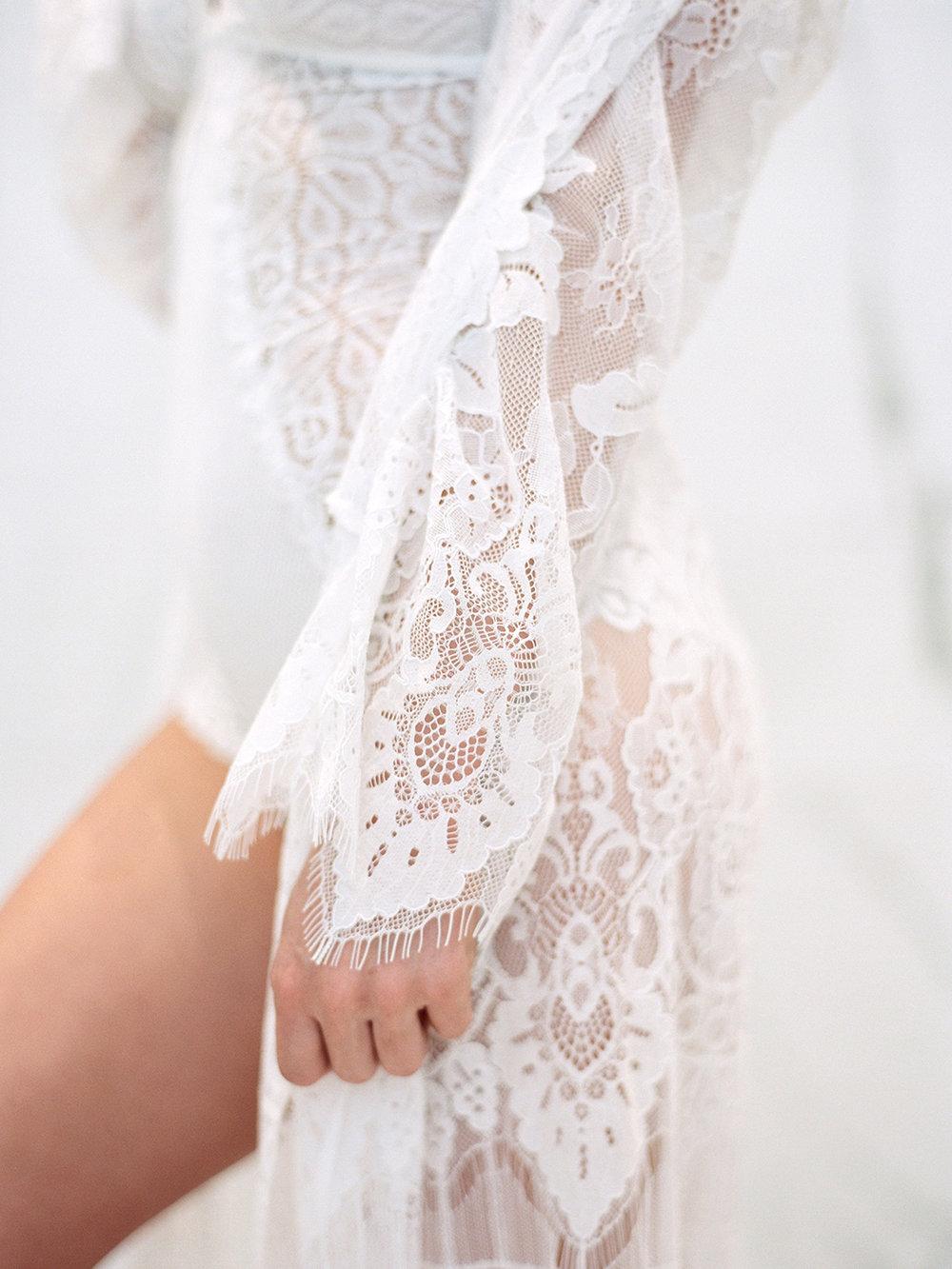 Lace Robe | Rensche Mari Photography