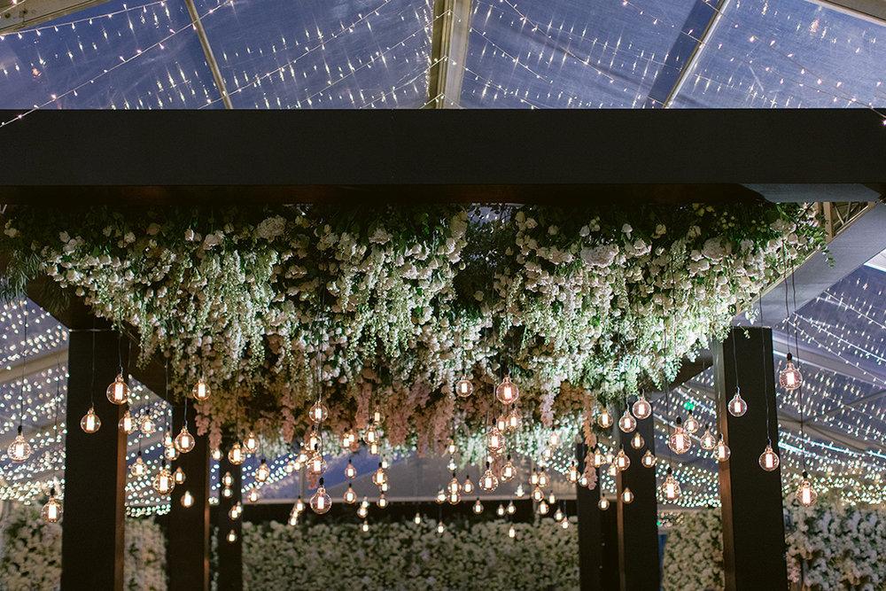Floral Ceiling | Rensche Mari Photography