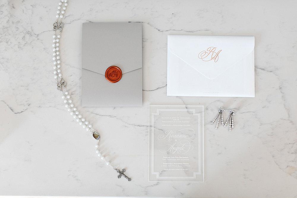 Wedding Stationery | Rensche Mari Photography
