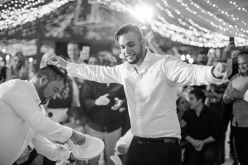 Groom Greek Dance | Rensche Mari Photography