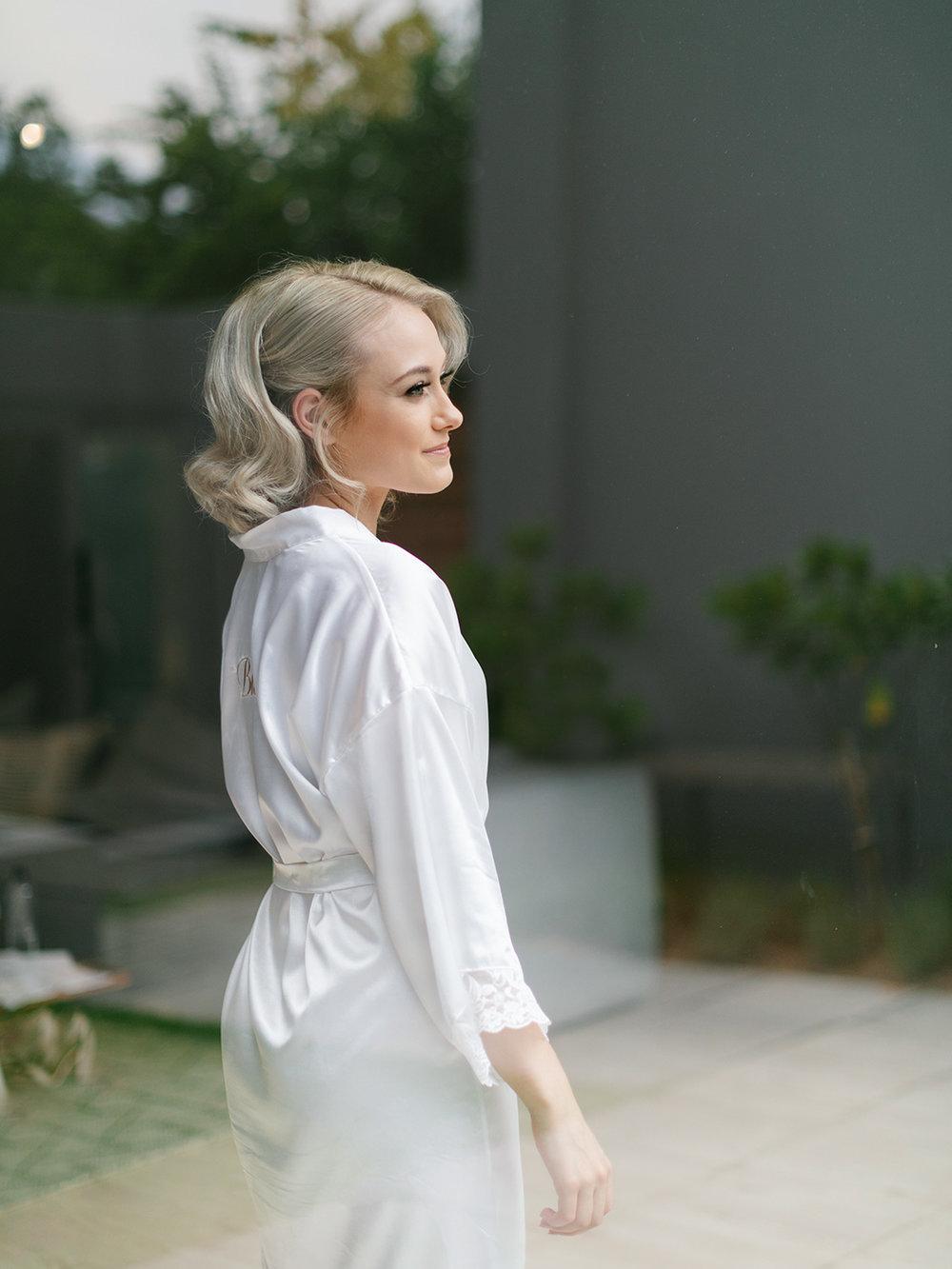 Bride Getting Ready | Rensche Mari