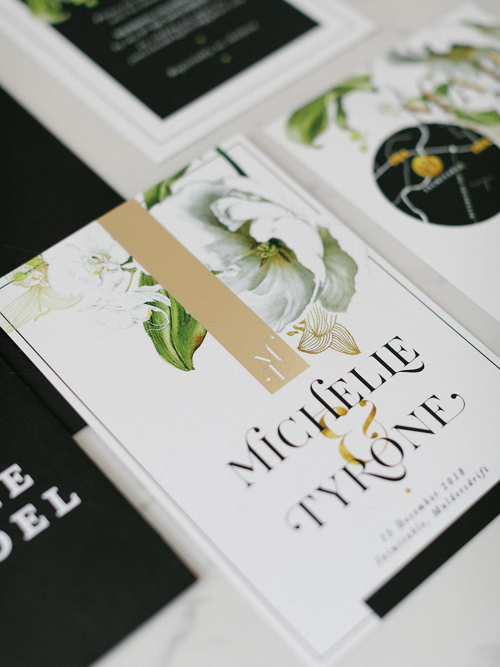 Chrystalace Wedding Stationery | Rensche Mari