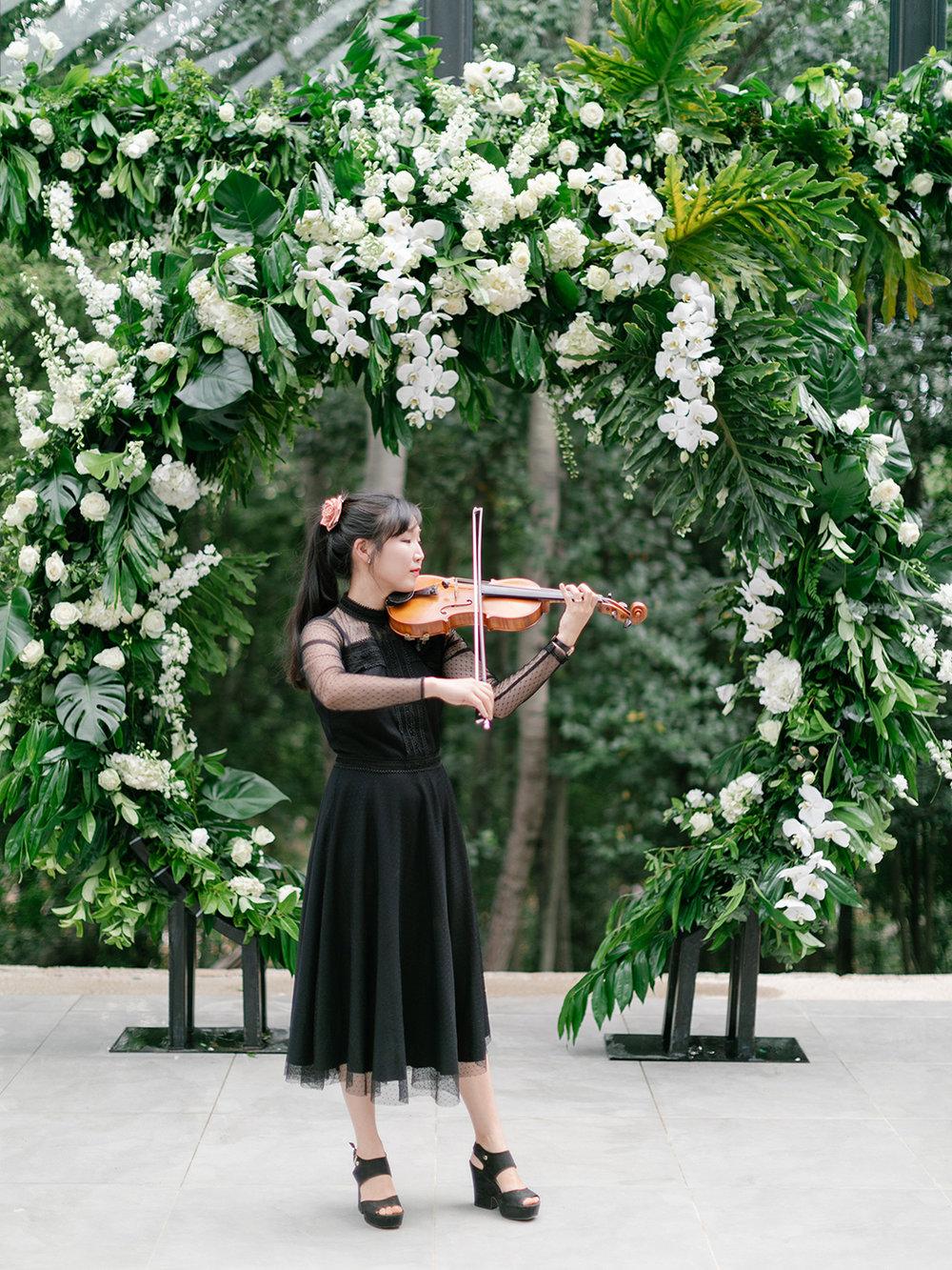Wedding Violin | Rensche Mari Photography