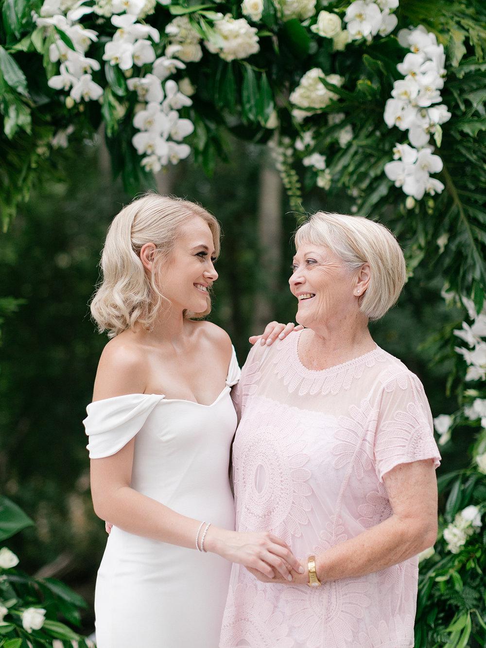 Bride & Grandmother | Rensche Mari