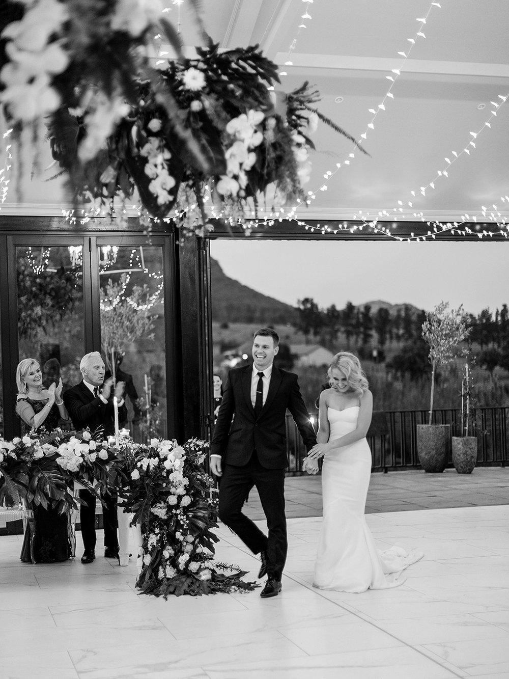 Bride & Groom Entrance | Rensche Mari