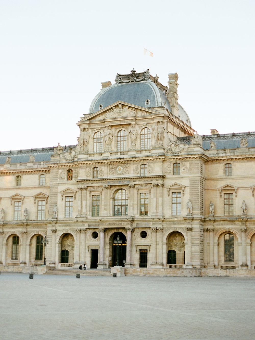 The Louvre Paris | Rensche Mari