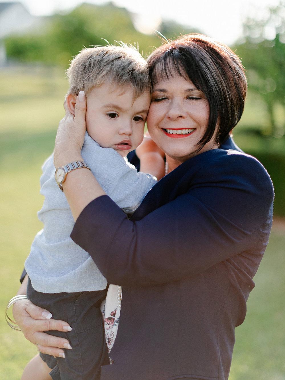 Grand mother & son   Rensche Mari