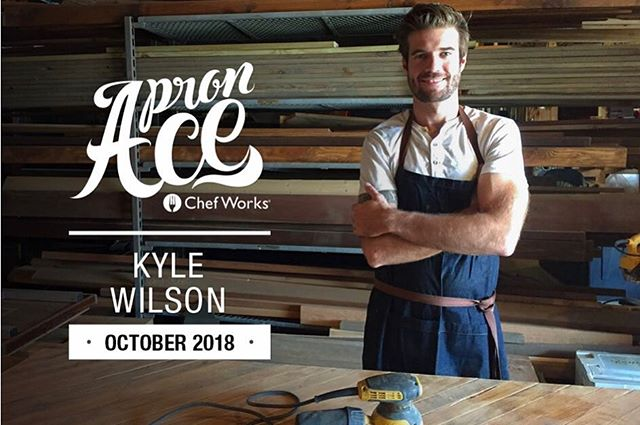 Thanks for the feature @chef_works and the sweet apron. Check out the full interview - Link in bio 👉