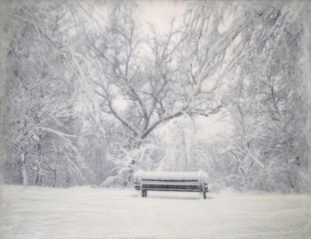 Snowy Bench   (NA)