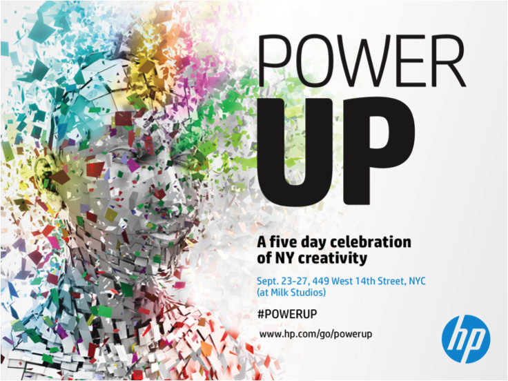 HP's POWER UP Festival