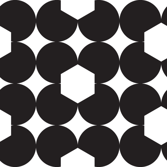 #2 - Circle/Hex | HeatherRoth.com/experiments