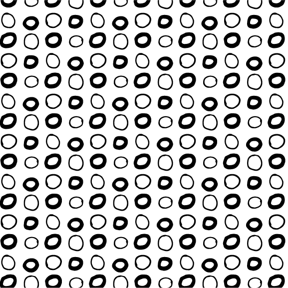 #23 Circles Grid | HeatherRoth.com/experiments