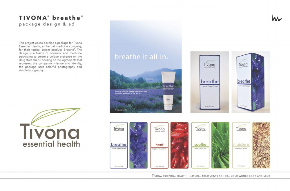 Tivona package design & ad | HeatherRoth.com