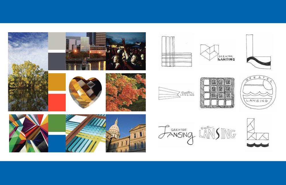 Lansing, MI branding & logo | HeatherRoth.com