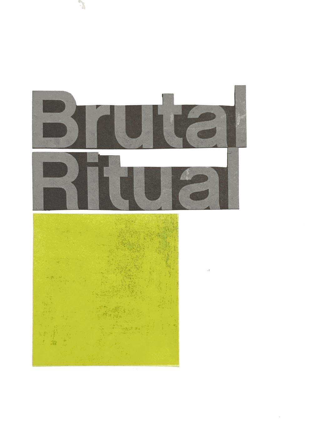 Brutal Ritual | HeatherRoth.com/experiments