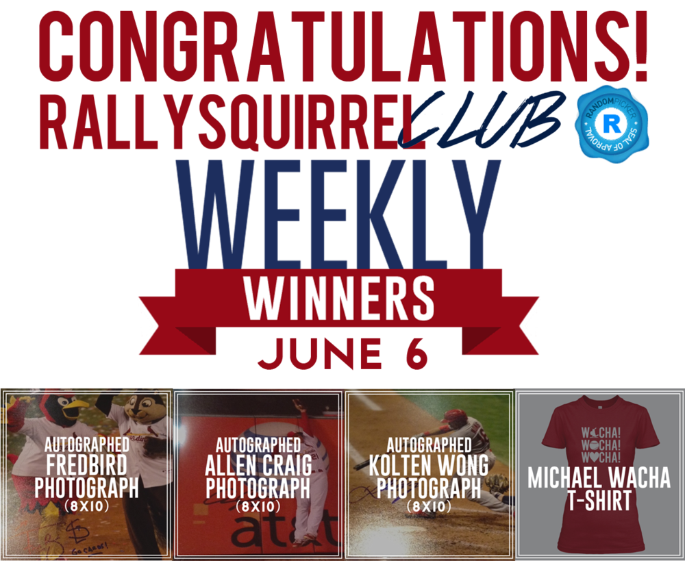 Congrats Week 9 Winners!