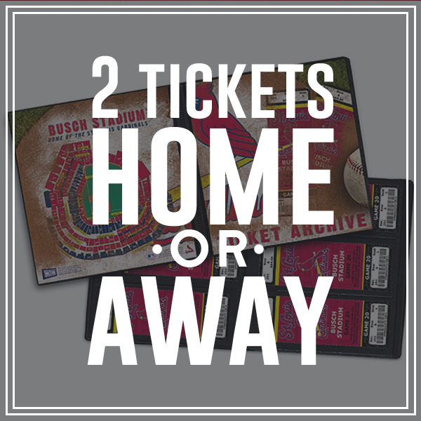 *2 Tickets will be for a home game
