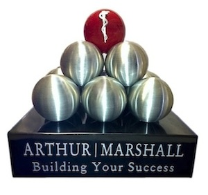 Arthur | Marshall Custom Award
