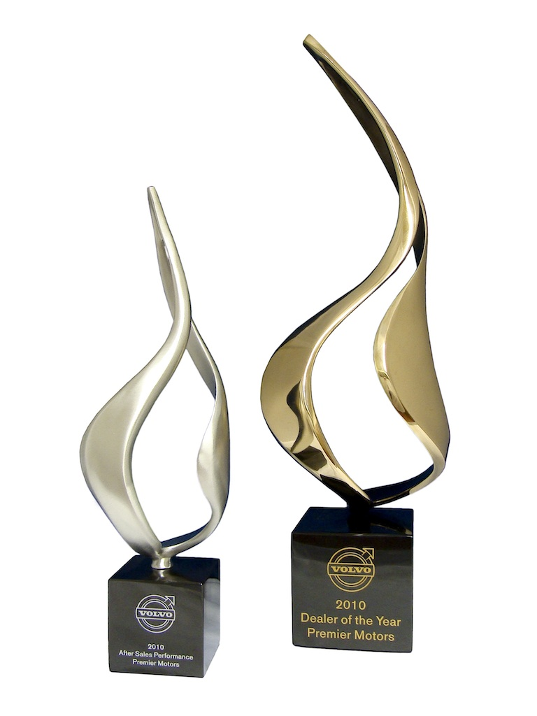 Eternal Spirit Awards: Pewter (Left) & Bronze (Right)