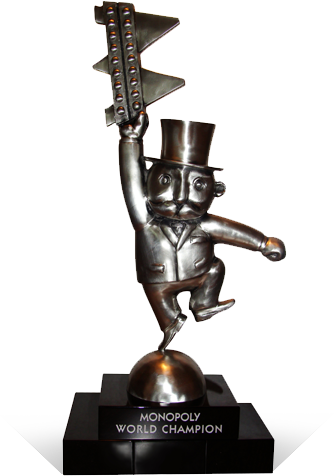 Monopoly World Championship Trophy